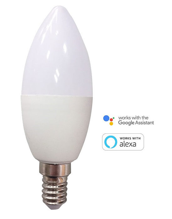 KONYKS ANTALYA E14 MAX EASY - Ampoule LED E14 Wi-Fi + BT RGBW