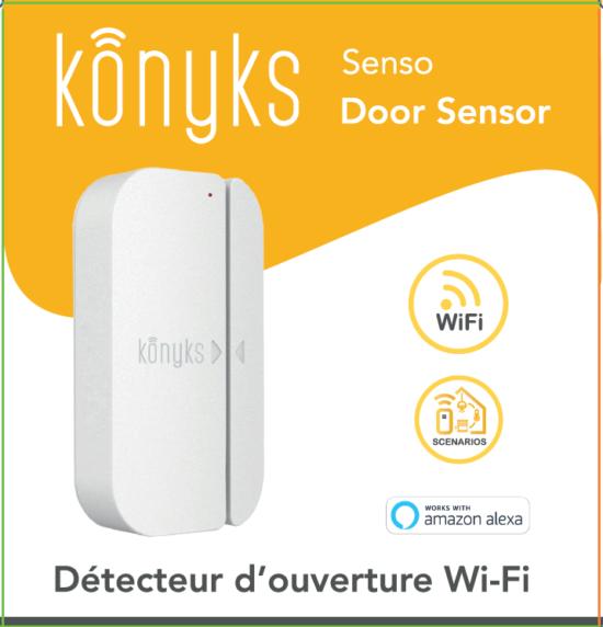 SENSO Détecteur d'ouverture Wi-Fi pour portes & fenêtres