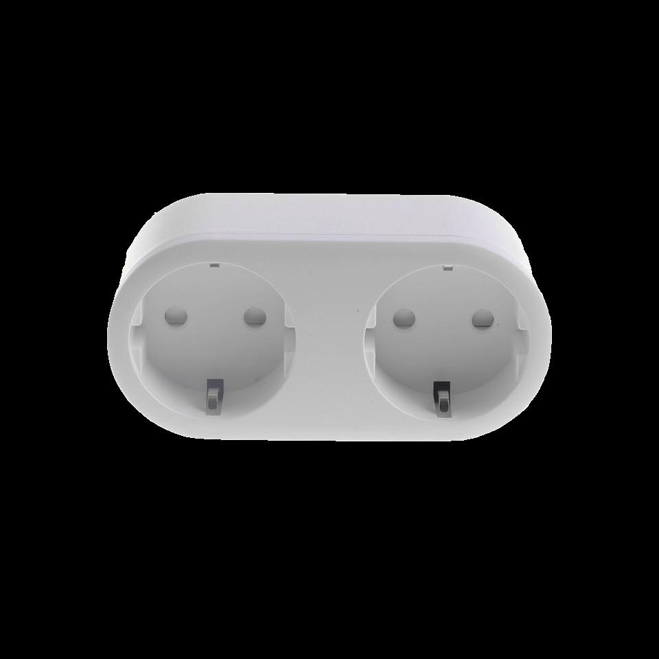 PRISKA DUO EU - Pack de 2 prises doubles connectées