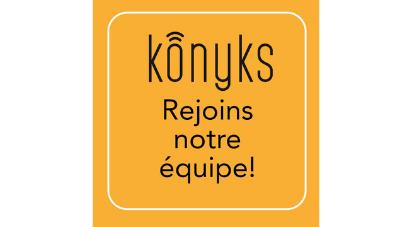 Rejoignez l'équipe Konyks !