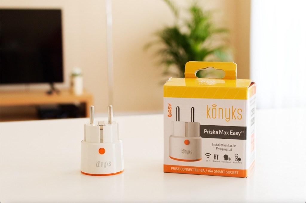 TEST : Notre avis sur la Konyks Priska Max Easy, une prise connectée WiFi et Bluetooth.